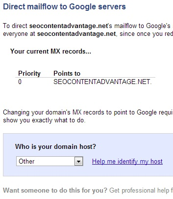 Google Route Mail