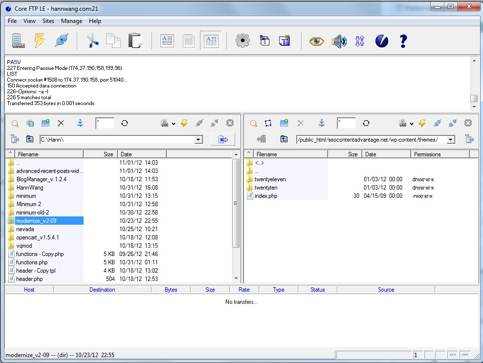 Modernize FTP